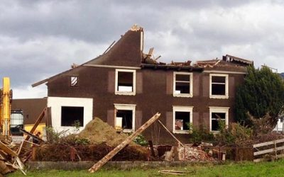 Abriss und Neubau