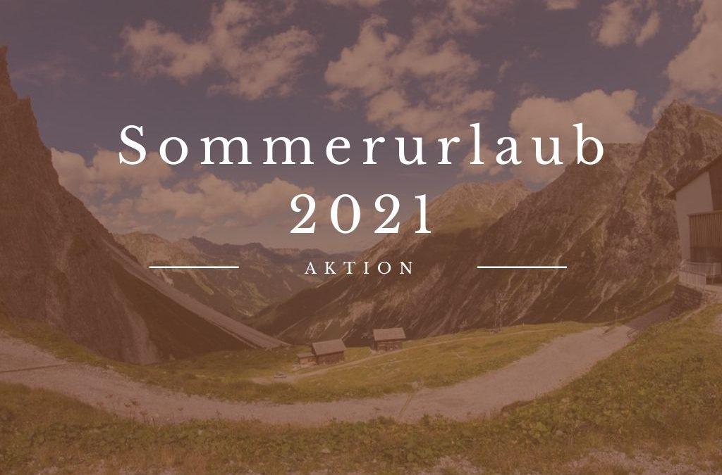 Sommerurlaubsaktion in Österreich 2021